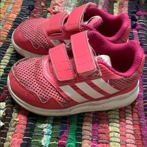 Adidas 8k Velcro girls shoes toddler 8